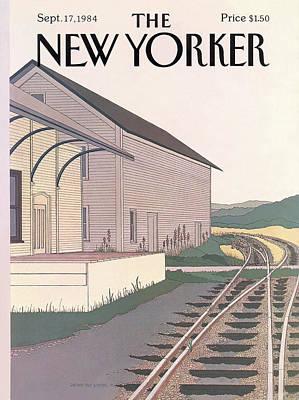 New Yorker September 17th, 1984 Art Print