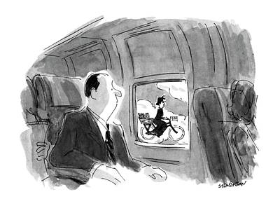 1990-s Drawing - New Yorker September 17th, 1990 by James Stevenson