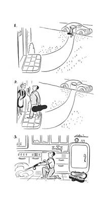 Chemical Drawing - New Yorker September 19th, 1942 by  Alain