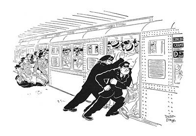 1951 Drawing - New Yorker September 1st, 1951 by Robert J. Day