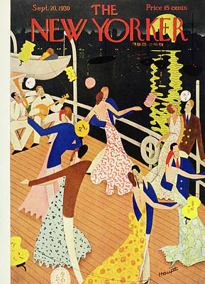 Leisure Painting - New Yorker September 20 1930 by Theodore G. Haupt
