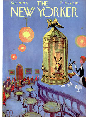 New Yorker September 20th, 1958 Art Print by Robert Kraus