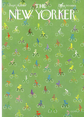 New Yorker September 20th, 1969 Art Print by Charles E. Martin