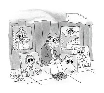 New Yorker September 21st, 1987 Art Print by Gahan Wilson