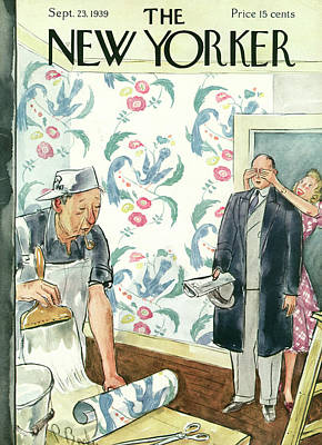 Perry Painting - New Yorker September 23rd, 1939 by Perry Barlow