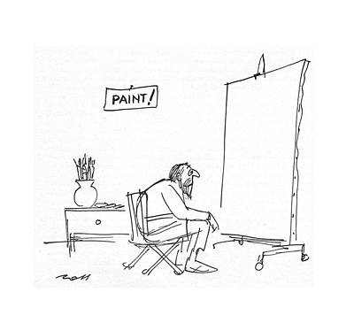 Artistic Drawing - New Yorker September 23rd, 1967 by Al Ross