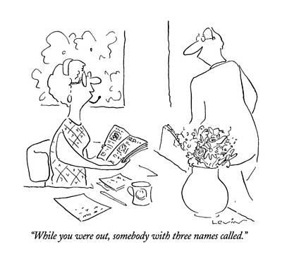 New Yorker September 23rd, 1996 Art Print by Arnie Levin