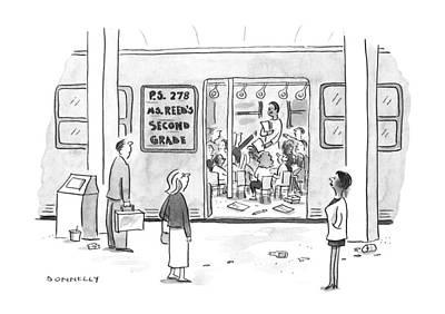 New Yorker September 23rd, 1996 Art Print