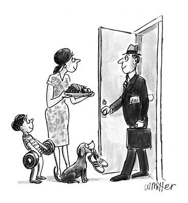New Yorker September 27th, 1993 Art Print by Warren Miller