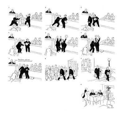 New Yorker September 28th, 1935 Art Print by Carl Rose