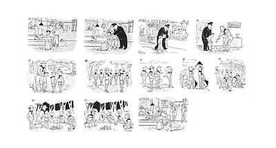 Boy Scouts Drawing - New Yorker September 2nd, 1944 by Roberta Macdonald