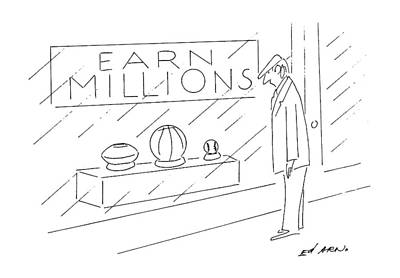 Basketball Drawing - New Yorker September 2nd, 1991 by Ed Arno