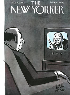 Peter Painting - New Yorker September 30th, 1950 by Peter Arno