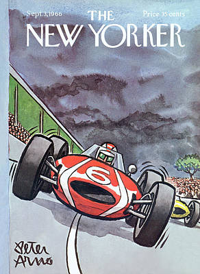 Arno Painting - New Yorker September 3rd, 1966 by Peter Arno