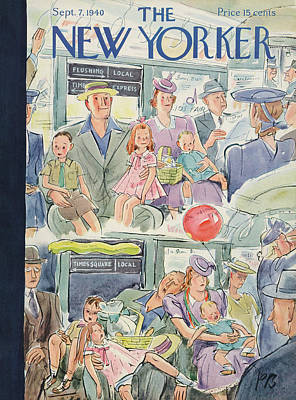 New Yorker September 7th, 1940 Art Print