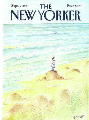Jean Jacques Sempe Painting - New Yorker September 7th, 1981 by Jean-Jacques Sempe