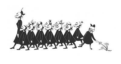 Christina Drawing - New Yorker September 9th, 1939 by Christina Malman