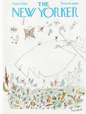Painting - New Yorker September 9th, 1961 by Saul Steinberg