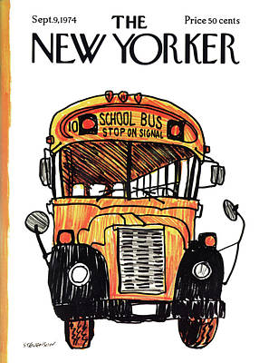 New Yorker September 9th, 1974 Art Print by James Stevenson