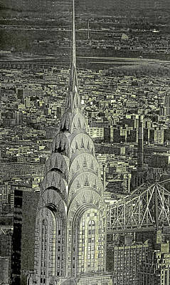 Photograph - New York's Chrysler Building   by Dyle   Warren