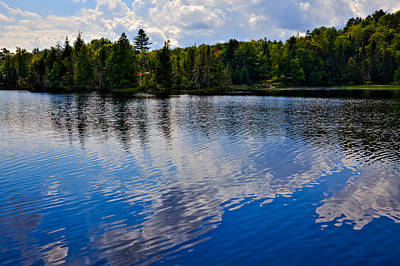 Photograph - New York's Lake Abanakee by David Patterson
