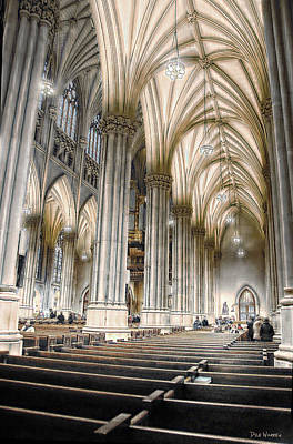 Photograph - New York's Saint Patrick's Cathedral by Dyle   Warren