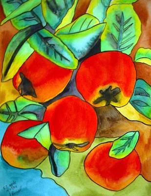 New Zealand Apples Art Print by Sacha Grossel