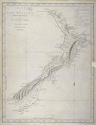 New Zealand Art Print by British Library