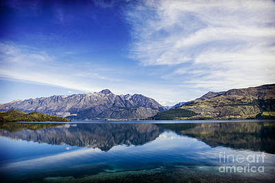 Photograph - New Zealand Queenstown Lake Wakatipu by Colin and Linda McKie