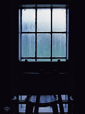 Digital Art - New Zealand Series - St. Ozwald's Choir Loft Window by Jim Pavelle