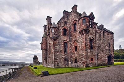 Lonely Photograph - Newark Castle by Marcia Colelli