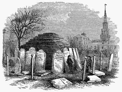 Newark Cemetery, 1876 Art Print by Granger