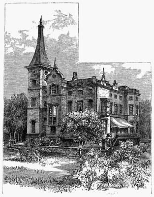 Newark Kearny Mansion Art Print by Granger