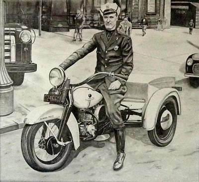 Newark Motor Officer Original