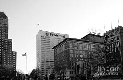 Arcitecture Photograph - Newark  New Jersey In Black And White by Paul Ward