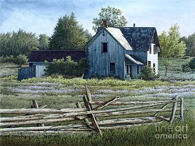 Painting - Newboro Homestead II by Robert Hinves