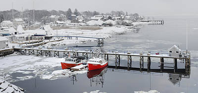 Photograph - Newburyport In Winter by Rick Mosher