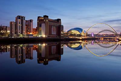 Photograph - Newcastle Quayside by Stephen Taylor