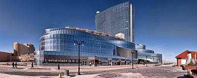 Newest Revel Casino At Atlantic City Art Print by Panoramic Images