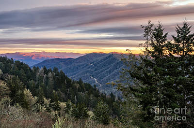 Photograph - Newfound Gap by Anthony Heflin