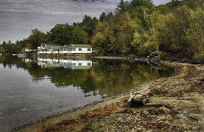Newfound Lake In Autumn Original