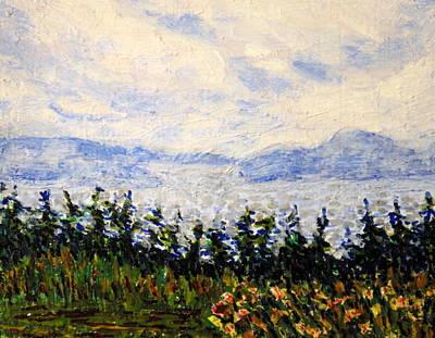 Painting - Newfoundland Up The West Coast by Ian  MacDonald