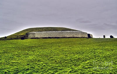 Photograph - Newgrange In The Boyne Valley by Nina Ficur Feenan