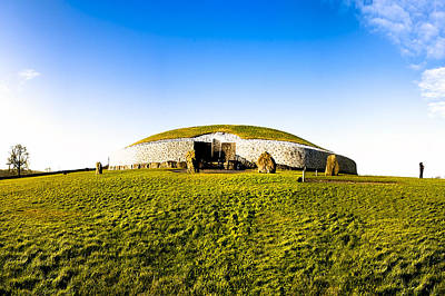 Photograph - Newgrange - Mystery Of The Irish Boyne Valley  by Mark E Tisdale