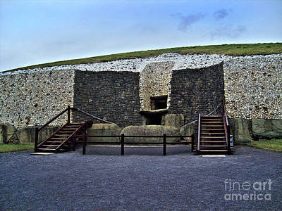 Photograph - Newgrange by Nina Ficur Feenan