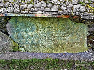 Photograph - Newgrange Standing Stone by Nina Ficur Feenan