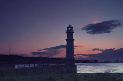 Photograph - Newhaven Lighthouse by Jean-Noel Nicolas