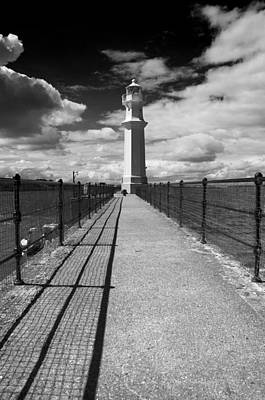 Photograph - Newhaven Lighthouse by Ross G Strachan