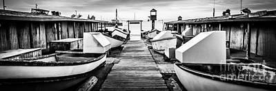 Newport Beach Dory Fishing Fleet Panorama Photo Art Print by Paul Velgos