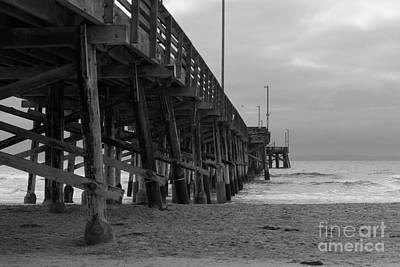 Photograph - Newport Beach Pier by Ana V Ramirez